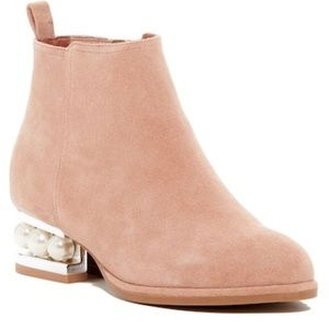 Jeffrey Campbell - Orlando Faux Pearl Boots